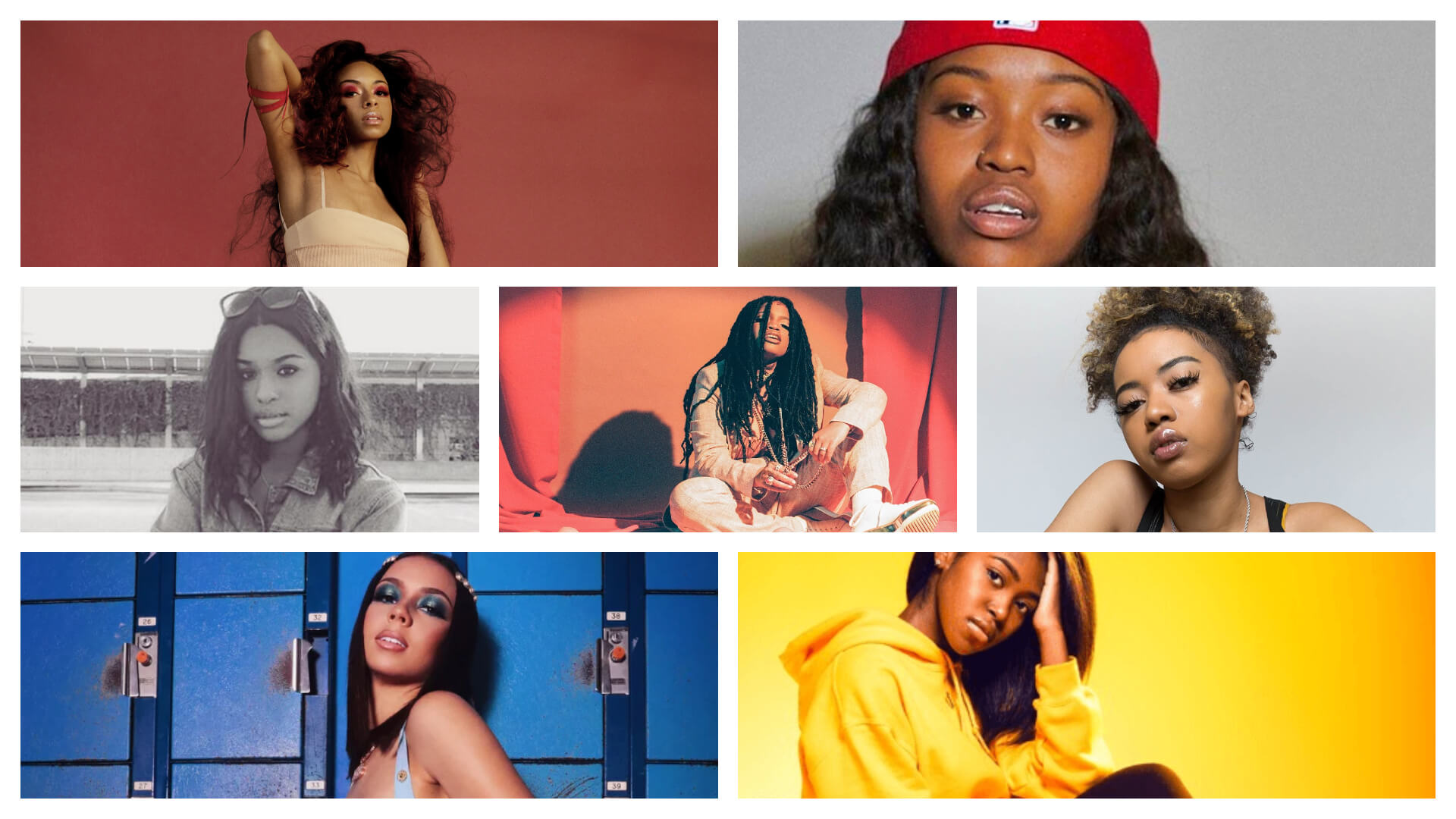 女性R&Bシンガー