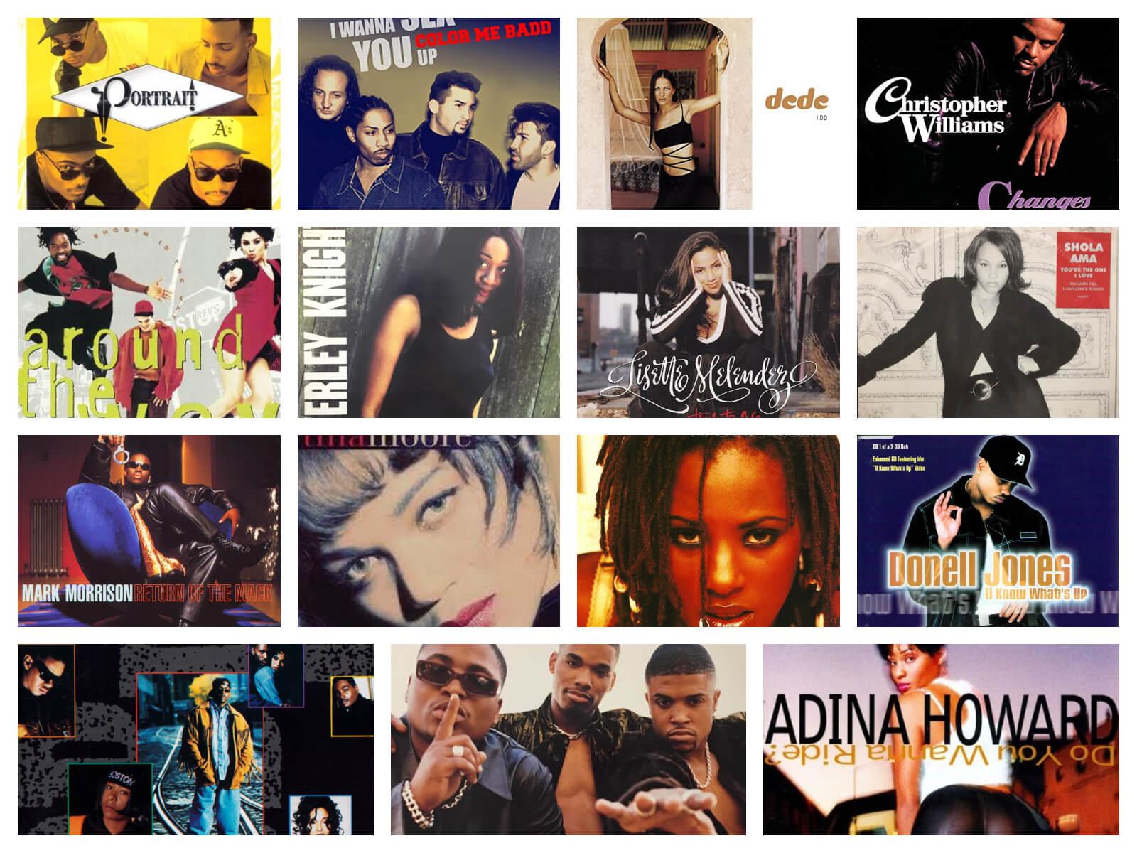【90年代R&B】未だ色褪せない名曲